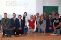 Niektorí účastníci GIS Day Nitra 2016, foto: Miloslav Ofúkaný