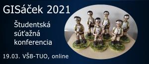 Študentská súťažná konferencia GISáček 2021