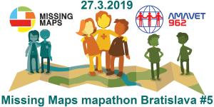 Registrácia na 5. bratislavský Missing Maps mapathon