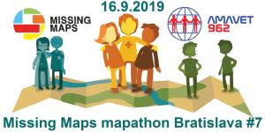 Registrácia na 7. bratislavský Missing Maps mapathon