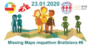 Registrácia na Missing Maps mapathon Bratislava #8
