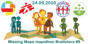 Registrácia na Missing Maps mapathon Bratislava #9