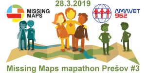 Registrácia na 3. prešovský Missing Maps mapathon