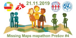 Registrácia na Missing Maps mapathon Prešov #4