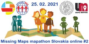 Registrácia na Missing Maps Slovakia online mapathon #2