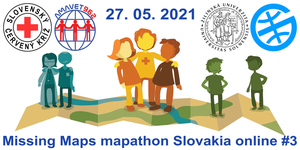 Registrácia na Missing Maps Slovakia online mapathon #3