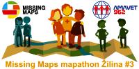 Registrácia na Missing Maps mapathon Žilina #3
