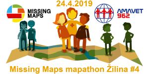 Registrácia na Missing Maps mapathon Žilina #4