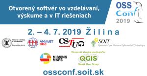 Prihláška na konferenciu OSSConf 2019