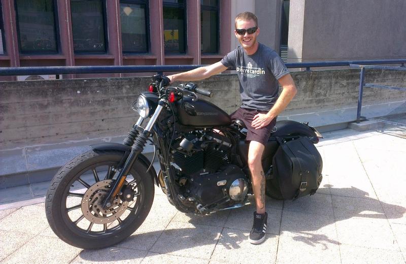 Vladimír Juračič miluje motorky, foto: archív V.Juračič