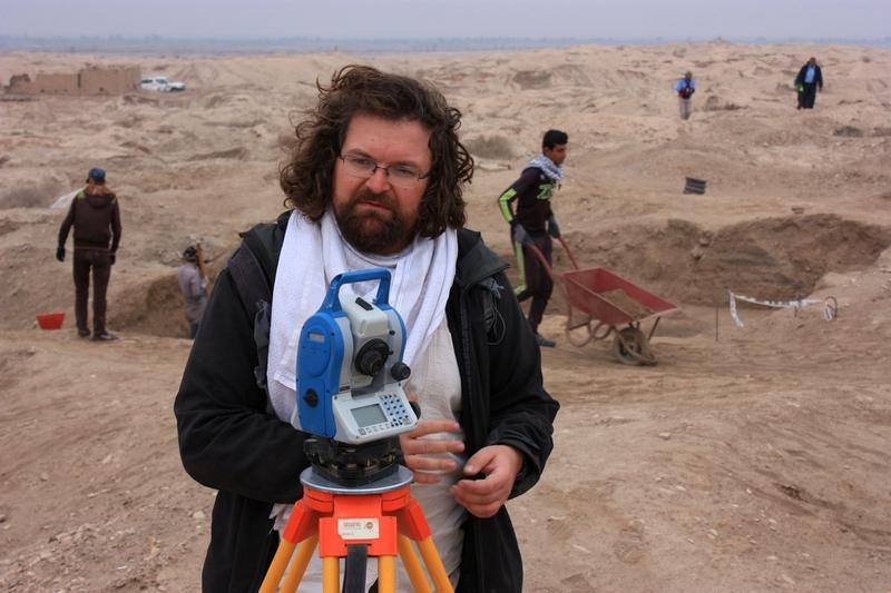 Tibor Lieskovský pri archeologickom výskume, foto: archív T.Lieskovský