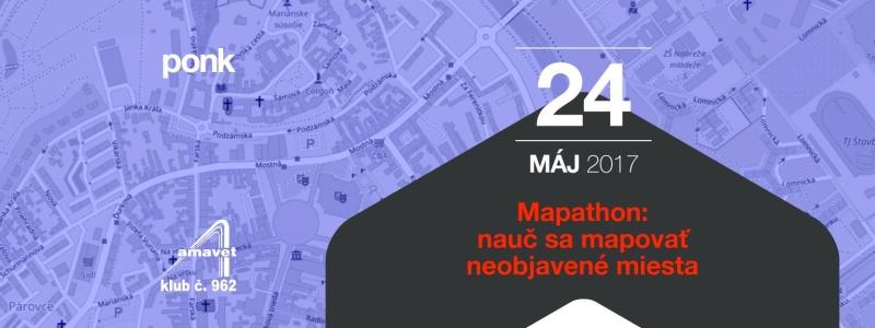 Registrácia na 3. Missing maps mapathon v Nitre