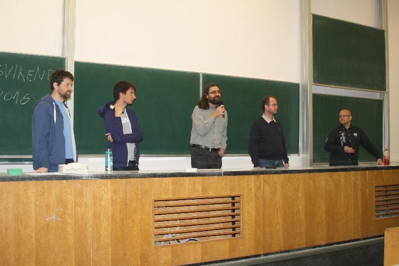 Panelová diskusia na tému Profesionálne využitie open source softvéru, foto: Miloslav Ofúkaný
