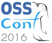 logo konferencie OSSConf 2016 a sekcie OpenGIS, autor: Peter Štrba