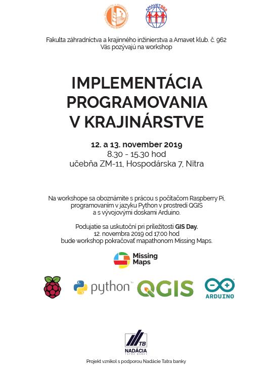 Registrácia na workshop