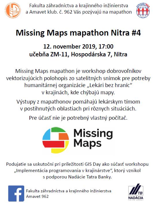 Registrácia na mapathon
