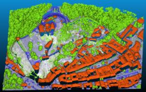 Crowdfundingová kampaň pre vytvorenie mapovej vrstvy mračná bodov v QGIS