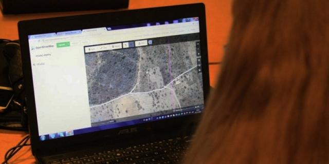 Registrácia na 1. prešovský Missing Maps mapathon, foto: Miloslav Ofúkaný