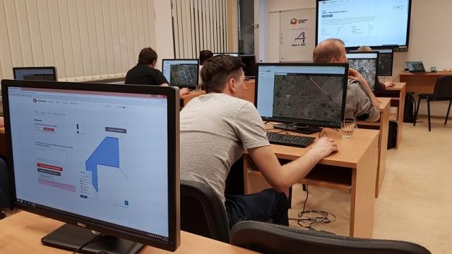 Registrácia na 1. žilinský Missing Maps mapathon, foto: Miloslav Ofúkaný