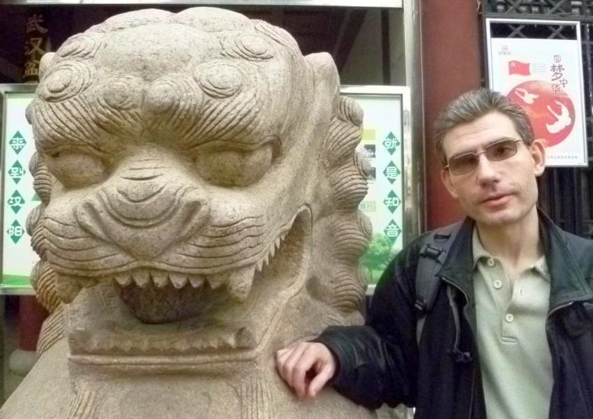 Radim Štampach v Číne v decembri 2017, foto: archív R.Štampach