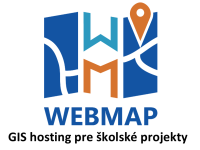 Webmap – GIS hosting pre školské projekty